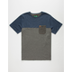 HIPPYTREE Lowball Mens Pocket Tee