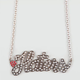 ROCK REBEL Haters Necklace