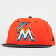 NEW ERA Miami Marlins Snapback Hat