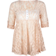 FULL TILT Lace Womens Babydoll Top