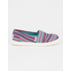TOMS Textile Girls Classic Slip-Ons