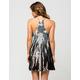 BOHO Lace Panel Coverup Dress