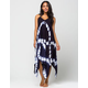BOHO ME Tie Dye Coverup Dress