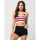 FULL TILT Americana Womens Halter Top