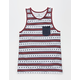 SHOUTHOUSE Longford Mens Pocket Tank