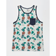 SHOUTHOUSE Pineapple Express Mens Pocket Tank