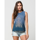 POOLHOUSE Celestial Nature Womens Muscle Tee