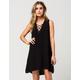 ELAN Lace Up Coverup Dress