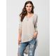BLU PEPPER Speckled Knit Womens Sweater