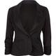 ASHLEY One Button Womens Blazer