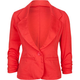 ASHLEY One Button Womens Blazer