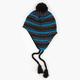 BLUE CROWN Stripe Peruvian Mens Beanie