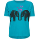 FULL TILT Elephant Love Girls Boxy Tee