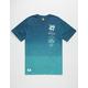 LRG Lines Dip Dye Mens T-Shirt