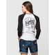 HURLEY Tall Boy Womens Raglan Tee