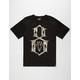 REBEL8 Giant Collage Logo Mens T-Shirt