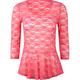 FULL TILT Lace Peplum Womens Tunic