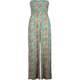 ANGIE Palazzo Womens Tube Jumpsuit