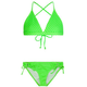 FULL TILT Pin Dot Girls Swimsuit Set