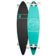 GOLDCOAST Classic Turquoise Pintail Longboard- AS IS