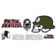 METAL MULISHA 6 Piece Sticker Pack