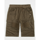 UNCLE RALPH Mens Cargo Jogger Shorts