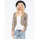 BILLABONG Eyes On Me Sequin Womens Jacket