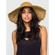 Scalloped Brim Floppy Hat