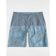 SUBCULTURE Fade Medallion Mens Hybrid Shorts