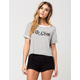 VOLCOM Yo Crop Womens Tee
