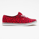 VANS Leopard Authentic Lo Pro Womens Shoes