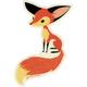 GAMA GO Sly Fox Sticker