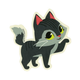 GAMA GO Kitty Time Sticker
