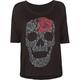 LIRA Floral Skull Womens Tee