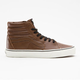 VANS Aged Leather Sk8-Hi Mens Shoes