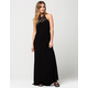 FULL TILT Crochet Maxi Dress