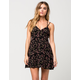 FULL TILT Criss Cross Floral Dress