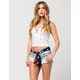 ALMOST FAMOUS PREMIUM American Sash Womens Denim Shorts