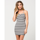 FULL TILT Henley Body Con Dress