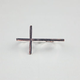 FULL TILT Cross 2 Finger Ring