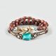 FULL TILT 2 Piece Wood Bead Bracelets