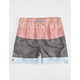 MICROS Floral Mens Elastic Waist Shorts