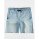 CRASH Mens Denim Jogger Shorts