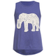 FULL TILT Crochet Elephant Girls Tank