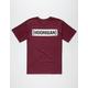 HOONIGAN Wide Rule Censor Bar Mens T-Shirt
