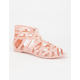 DIRTY LAUNDRY Loved Up Womens Jelly Sandals