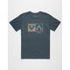 RVCA Ashbury Balance Box Mens T-Shirt