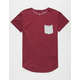 NEFF Bosley Mens Pocket Tall Tee