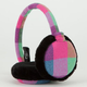Candy Plaid Earmuffs
