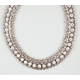 FULL TILT Rhinestone Chain Statement Necklace